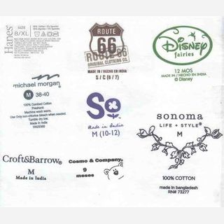 Labels-Packaging trims