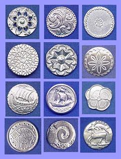 Handmade Fine Pewter Buttons