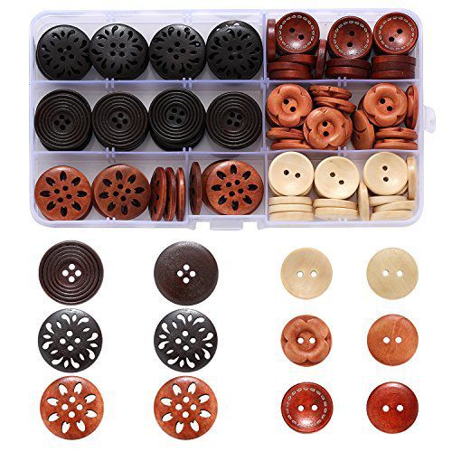 Wooden Stylish Buttons