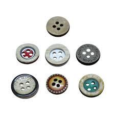 Plastic Transparent Buttons