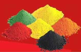 For dyeing yarn & fabric, Black, Red, Yellow, Blue