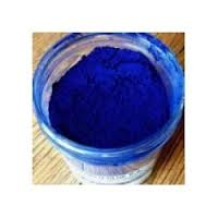 For solvent dyes, CPC Blue, in powder form