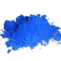 For textile industry, Blue color, Powder/Liquid form