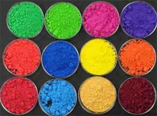 Textile industry, High strength, bright shades, good solubility