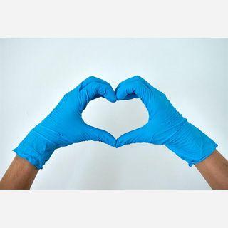 Latex Medical Examination Disposable Hand Gloves