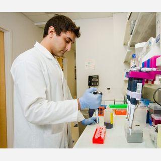 Unisex Design White Medical Lab Coat