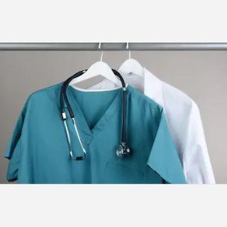 Surgeons Disposable Medical Uniform Scrub Suit