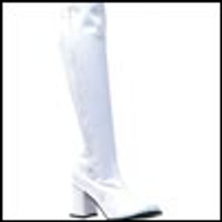 Womens knee high gogo boots