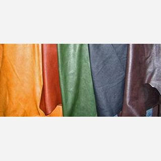 Black, Brown, Beige, White, Red, Blue, Green, smooth, Raw Leather