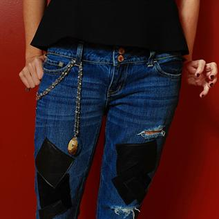 Men and Women Denim Jeans, Finished