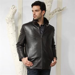 Men, Leather