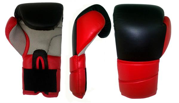 pvc leather boxing gloves