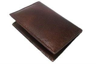 Men, Dark Brown Leather