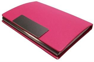 Unisex, Pink Leather