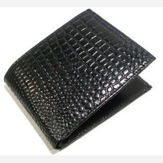 For Mens, Material : Cobra Leather, Color : Black
