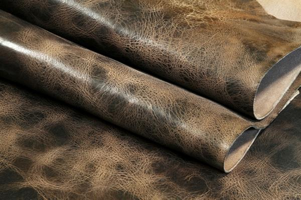 buffalo finished leather for bags