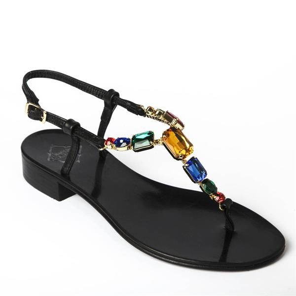 nappa leather sandal