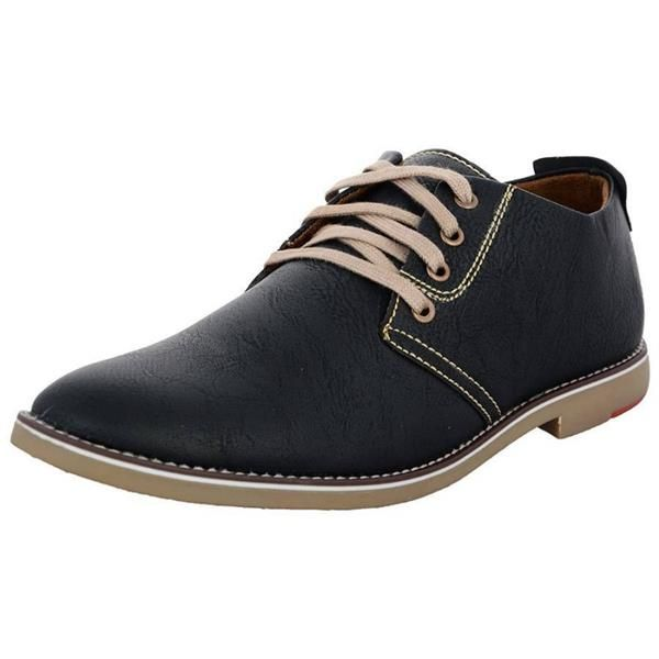 mens pu casual shoes