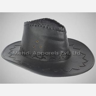 mens leather hats