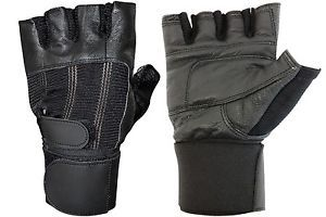 Weight Lifting Leather Glove