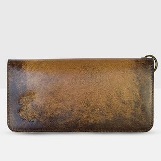 Ladies leather wallet-Leather products