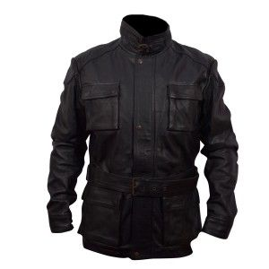 Leather Stylist Jacket