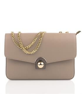 Leather Clutch with chain strap