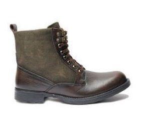 Men's Leather Combat Boot