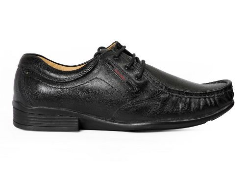 PF 10052 Men Black Formal Shoes