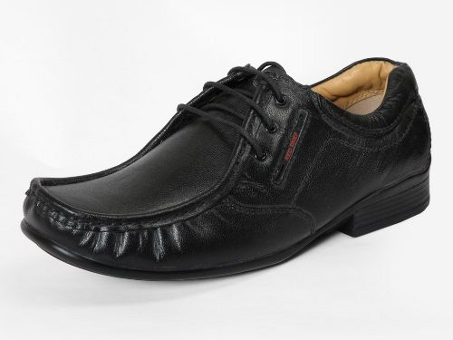 PF 10052 Men Black Formal Shoes