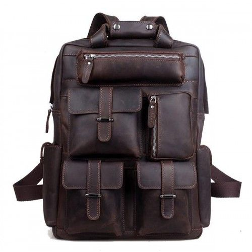 Leather Bag Packs