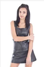 Leather Top for Women