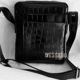 Genuine Crocodile Leather Cross Bag