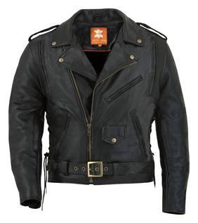 Finished Cow Leather Jacket