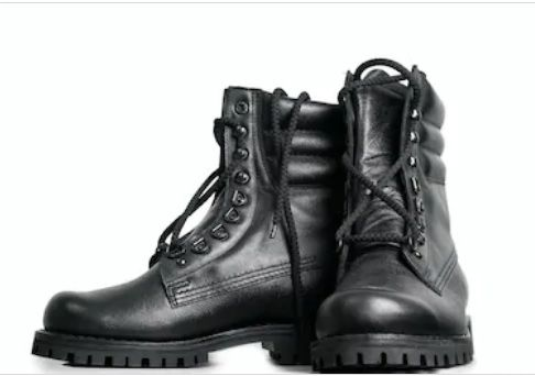 DMS Leather Boots