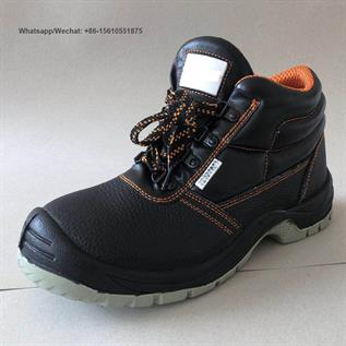 Cow Split Leather Safety Shoes