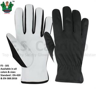 Assembly Leather Work Gloves