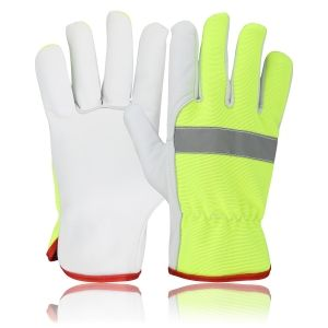 Safety Leather Working Gloves