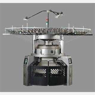 computerized jacquard circular knitting machine