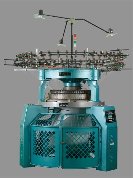 high speed inter rib circular knitting machine