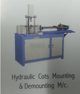 """55 x 40 x 72 cms, 193 x 98 x 125 Cms, RSB, Comber, Draw Frame """"Alucore"""" cots etc,  4.5 H.P. (3.3KW), 350-400 Top Roller Per Hour"""