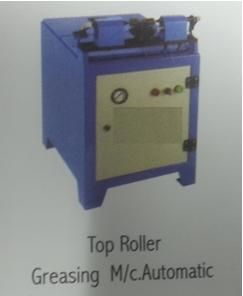 73 x 66 x 80 Cms, For Greasing of R/F & S/F top Roller to Grease Double Side at a time with Calibration,  0.5 HP , 3 Phase., 350-400 Top Roller Per Hour
