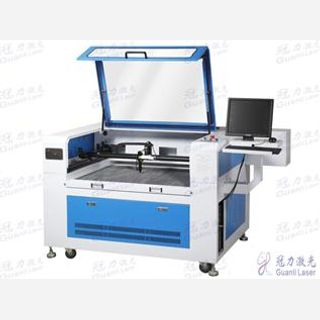 Embroidery Labels Badges Laser Cutting Machine