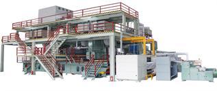 SMS Polypropylene Nonwoven Fabric Making Machine