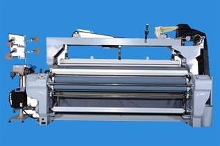 water jet loom with cam