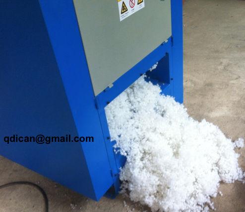 Polyester ball fiber machine
