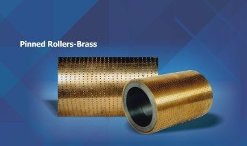 Pinned Rollers Brass
