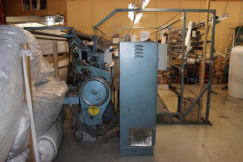Used Thread Rack Roll Wind Up Frame