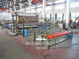 Combining and Laminating Machine