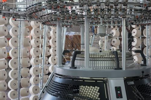 Single Knitting Machine